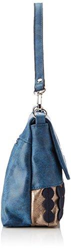 Bulaggi Lottie Crossbody - Borse a tracolla Donna, Blau, 08x18x27 cm (B x H T)
