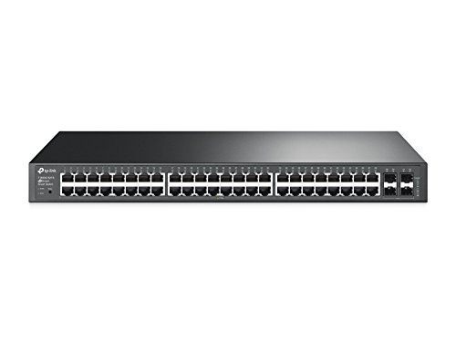 TP-Link Jetstream 48-Port Gigabit Smart Switch with 4-SFP Slots (T1600G-52TS/TL-SG2452)