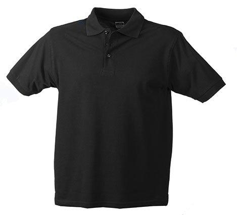 Klassisches Hochwertiges Polohemd (S - 3XL) L,Black