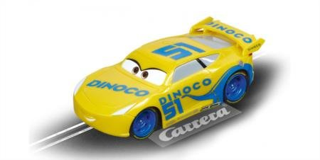 Carrera 64083 GO!!! Disney/Pixar CARS 3 Dinoco Cruz Slot - Carrera Brand