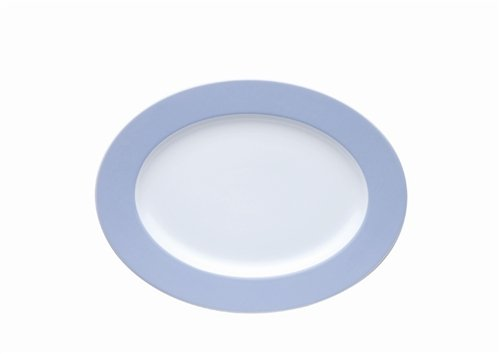 (Thomas Sunny Day Serving Platter, Pastel Blue)