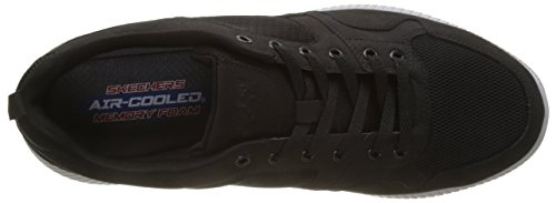 Skechers Heren Black Depth Charge Eaddy Sneakers 10.5 D (m) Us