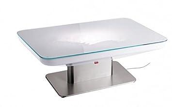 gowe h56 led lumineux meubles table de salle manger pour 4 personnes studio led