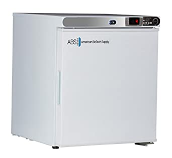 American BioTech Supply ABT-HC-UCFS-0120-LH Premier Undercounter Freezer, Freestanding, Left Hinged, 1.7 cu. ft. Capacity, White
