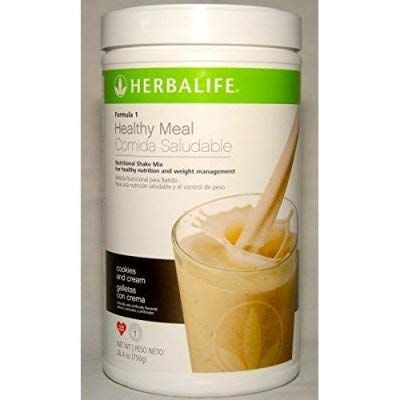 Amazon.com: Herbalife Formula 1 Healthy Meal Nutritional Shake Mix: Cookies n Cream 750 g: Health & Personal Care