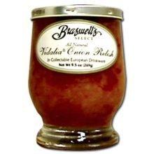 lia On Relish 9.50 OZ(Pack of 6) (Braswell Vidalia Onion Relish)