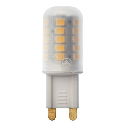 Newhouse Lighting G9 LED Bulb Halogen Replacement Lights, 3W (25W Equivalent), 260 Lumens, 120V, 3000K For Sale