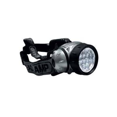 12 LED super claires armée lampe frontale haute performance de poche noir