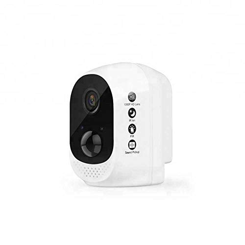 Half-moon HD 1080P Waterproof Security Long Life Battery Operated Wireless Backup CCTV Camera with Wire-Free Easy Installation Two Way Audio Motion Sensor Icloud Service