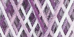 Coats Crochet Aunt Lydia's Crochet, Cotton Classic Size 10, Shades of Purple (Crochet Cotton Purple)