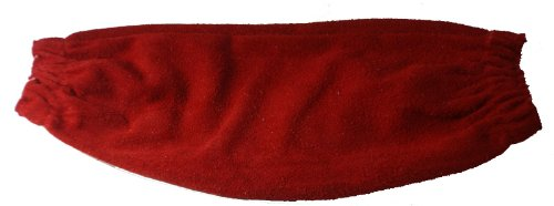 Futuris Premium Range Red Leather Welding Sleeves by Futuris