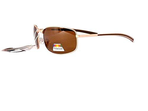 polarisés cityvision soleil de verres polarisantes homme Marron Or Monture Verres femme lunettes polarisées 201304 aq8InwC