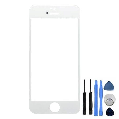 BisLinks® Front Screen Lens Glass For iPhone 4S Replacement Part White (Screen 4s Replacement Iphone Oem)