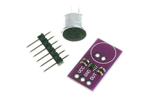 NOYITO MAX9812L Electret Microphone Amplifier Development Board Sensor Module