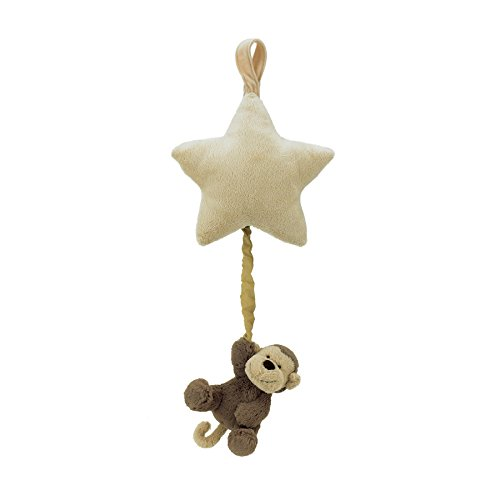 Jellycat Monkey Star Pull Muscial Pull - 5