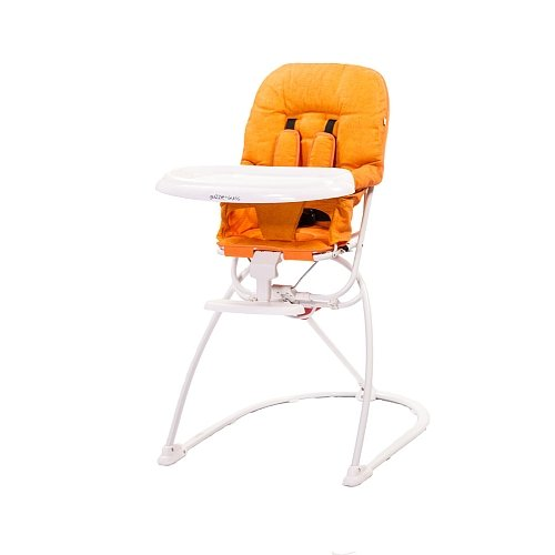 guzzie plus Guss Tiblit High-Chair with Mircofibre, Orange ()