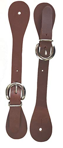 Abetta Harness Leather Spur Straps