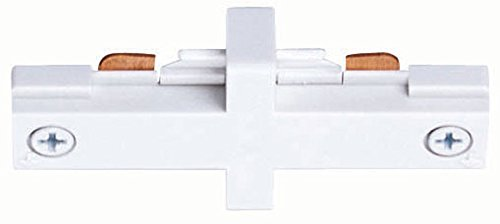 Juno Lighting R23WH Miniature Straight Connector, White