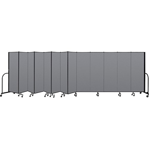 (Interlocking Mobile Partitions, 13 Panels, 24'1