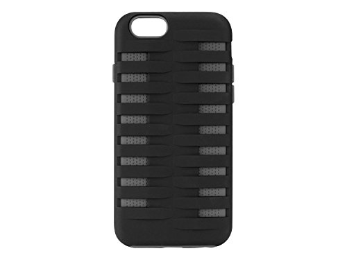 Cellet Armor Dual Layer Proguard Case for Apple iPhone 6 (4.7-Inch) - Retail Packaging - Gray/Black