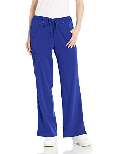 - Dickies Women's Xtreme Stretch Fit Drawstring Flare Leg Pant, Galaxy Blue, Large/Tall