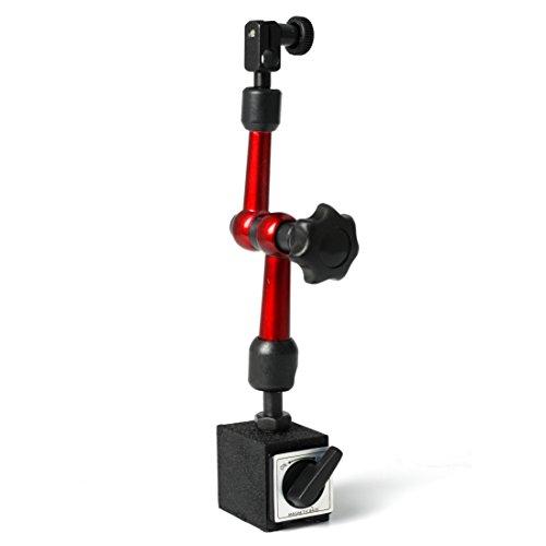 Magnetic Metal Base Holder,Tsing Universal Flexible Magnetic Metal Base Holder Stand Dial Test Indicator Tool