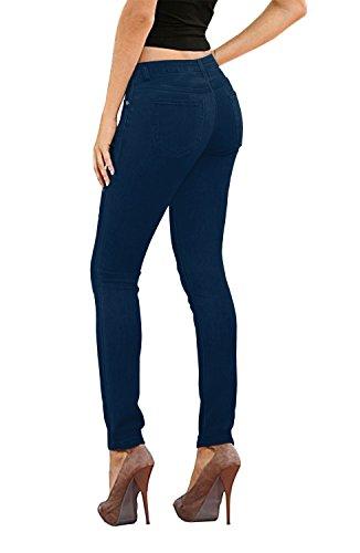 (Women's Skinny Fit Stretch Twill Pant P26130SK Indigo 1)