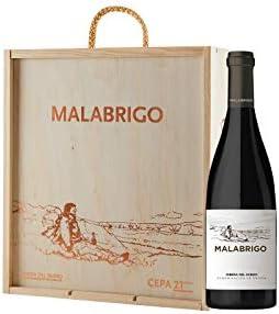 CEPA 21 - Malabrigo, Vino Tinto, Tempranillo, Ribera del Duero, 1500 ml, Caja de Madera