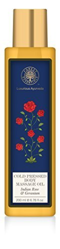 Forest Essentials Body Massage Oil Rose & Geranium - 200ml