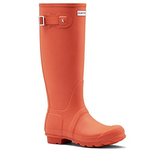 Womens Hunter Original Tall Winter Wellington Snow Muck Yard Rain Boots Tent Red 3awWV