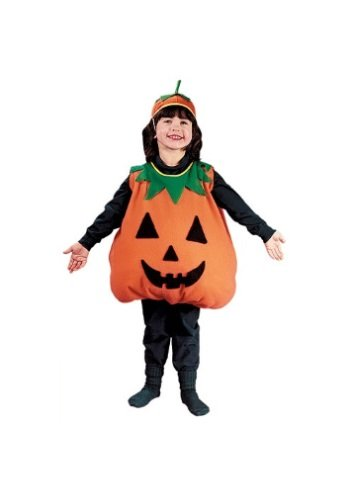 Big Boys' Pumpkin Costume Size 4/6 (Pumpkin Costumes)