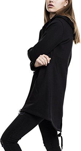 Parka Nero Urban giacca Sweat Classics Donna Jacke schwarz qq4w7ftH