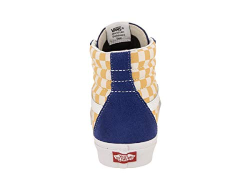 Pictures of Vans Unisex Sk8-Hi BMX Skate Shoe True Blue/Yellow 4