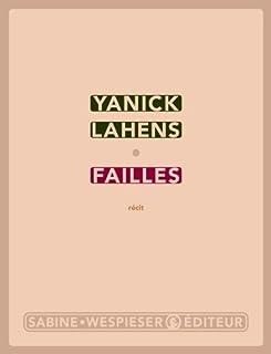 Failles : récit, Lahens, Yanick