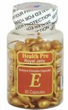 - 2 x Royal Jelly Vitamin-E Skin Oil 90 Gel, Moisture Complex Health Pro Facial Oil Capsules, FRESH Good Product quality!!