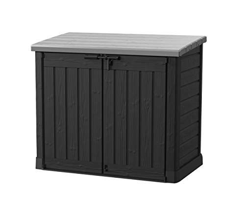 Keter Store It Out Max 2 x 240 Litre Bins Storage