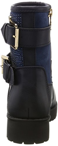 Navy Boots Blau Biker Damen 047513 XTI xnUS8x