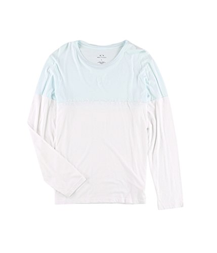 GIORGIO ARMANI Armani Mens Logo Basic T-Shirt 100 - Armani Giorgio Blue