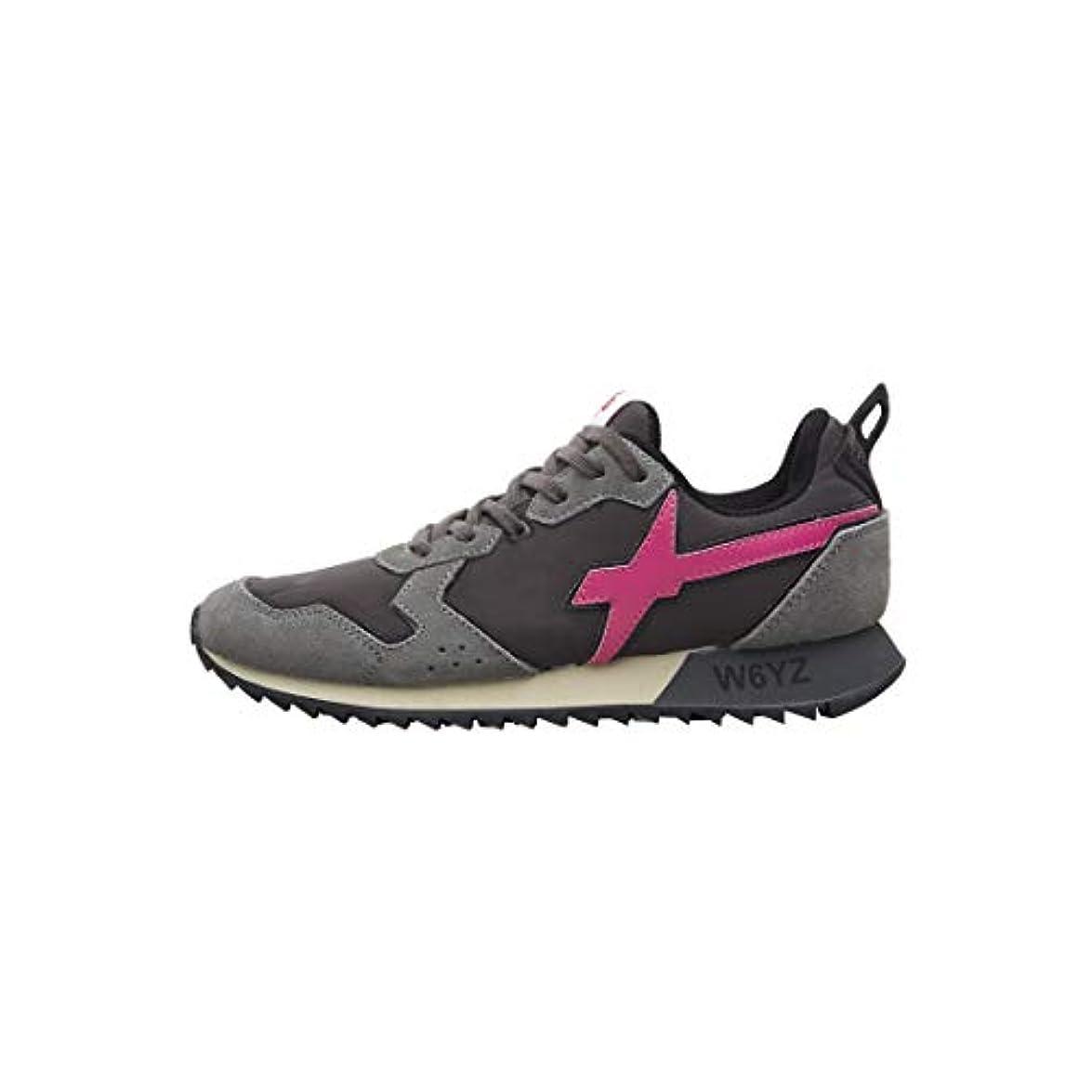 W6yz Jet-w -sneakers In Pelle E Nylon