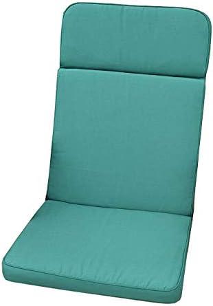 Cojin para silla reclinable de jardín clásico - color verde - SILLA NO INCLUIDA: Amazon.es: Jardín
