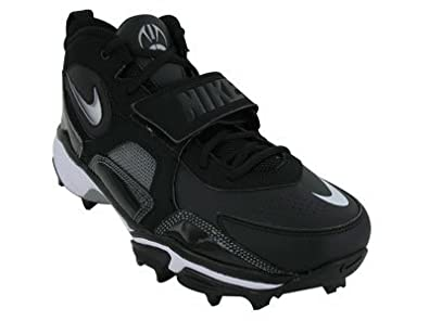 88014c33104 Nike Zoom Code Pro Shark Wide Football Cleats (16) Black White