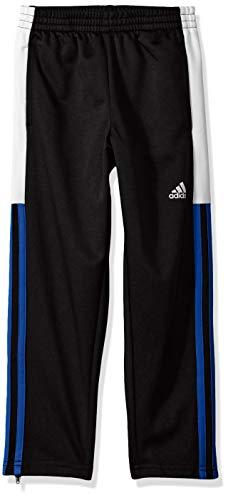 adidas Boys' Little Tapered Trainer Pant, Striker Adi Black/True Blue, 6 ()