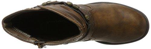 Bruno Banani Women's 264 525 Biker Boots, Charcoal Beige (Cognac 452)