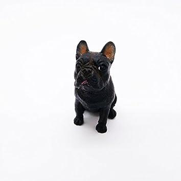 A VOWAN 1 pcs Bulldog Porte-cl/és De Mode Pet Chien Bijoux /À La Mode Bouledogue Fran/çais De Voiture Porte-cl/és Sac Porte-cl/és