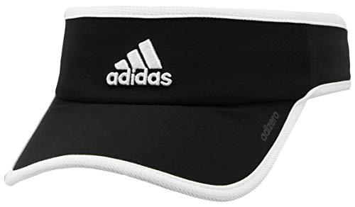 adidas Womens Adizero Visor, Black/White, One Size