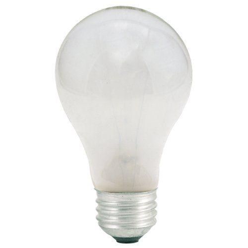 (Bulbrite 25A-10PK 25W 130V Long Life A19 Frost Standard Incandescent Light, 10-Pack)