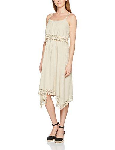 TANTRA Dress9628, Vestido Casual para Mujer Beige
