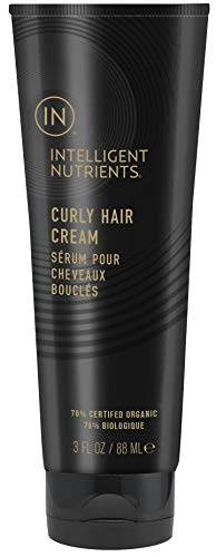 Intelligent Nutrients Curly Hair Cream - Frizz Fighting Styling Cream to Define Curls and Waves, Formerly Curly Hair Serum (3 oz)