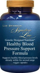Swanson Healthy Blood Pressure Support Formula 90 Veg Capsules