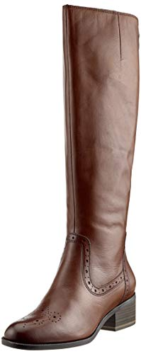 Boots 25541 Women's mocca 21 Brown High Tamaris 304 wCapIqP